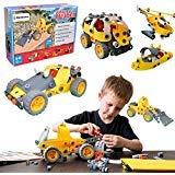Simbans JB 148 Stücke Bausteine   STEM Educational Learning Kit für 8, 9, 10+ jährige Kinder...