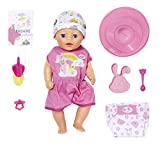 BABY Born 827321 Soft Touch Little Girl 36 cm, bunt