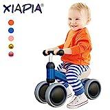 Kinder Laufrad Spielzeug für 10 - 24 Monate Baby, Lauflernrad mit 4 Räder, Erst Fahrrad für...