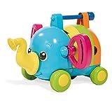 TOMY Babyspielzeug mit Musik 'Rudi Rasselelefant' mehrfarbig - hochwertiges Kleinkindspielzeug -...