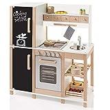 SUN Kinderküche Spielküche aus Holz mit Tafel 4139