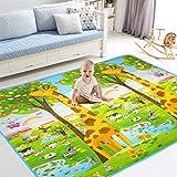 BigTree Krabbeldecke Groß Spieldecke Baby Spielmatte Spielteppich, Hautfreundlich und Anti-Rutsch,...