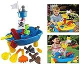 Brigamo 8939 - Piratenschiff Spieltisch Wasserspielzeug für Kinder, Spielzeug für die Badewanne...