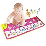 BelleStyle Musical Teppich, Baby Musical Piano Spielteppich Matte Musikinstrument Spielzeug Touch...