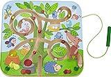 HABA 301057 Magnetspiel Baumlabyrinth, pädagogisches Holzspielzeug für Kinder ab 2 Jahren, schult...