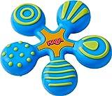 HABA 304289 - Greifling Stern blau, Baby- und Kleinkindspielzeug aus Kunststoff, hilft Babys ab 6...