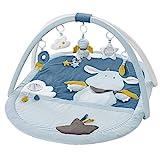 Fehn 065091 3-D-Activity-Decke Little Castle - Spielbogen mit 5 abnehmbaren Spielzeugen - Spiel &...