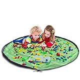 Kinder Aufräumsack - Amble Baby Spielzeug Speicher Tasche - Aufbewahrung Spieldecke für...