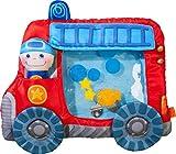 HABA 303820 - Wasserspielmatte Feuerwehr | Wasserbefülltes Baby-Spielzeug mit Schwimmelementen,...
