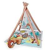 Skip Hop Camping Cubs Activity Gym Krabbeldecke, Spielbogen Teepee, mehrfarbig