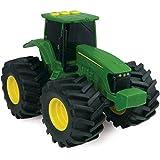 TOMY Traktor 'John Deere Monster Treads' in grün - hochwertiger Trecker aus Kunststoff - Fahrzeug...