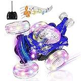 UTTORA Ferngesteuertes Auto, Kinderspielzeug für Jungen Mädchen, Dual Modi 360° Drehbarer Stunt...