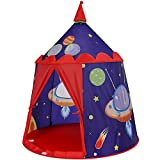 SONGMICS Spielzelt, Prinzenschloss Zelt für Jungs Kleinkinder, Spielhaus für innen und außen,...