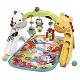 Fisher-Price CCB70 3-in-1 Erlebnisdecke Krabbeldecke mit Lichtern und Musik inkl. Spielzeugen...