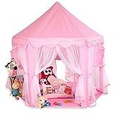 KIDUKU Kinderspielzelt Spielschloss Prinzessinenschloss Spielzelt Bällebad Spielhöhle mit...