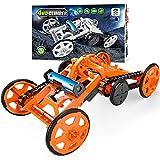 HENMI Spielzeugauto für Kinder DIY Gebäude Kreative Montage Set Fahrzeuge, Geschenke für Kinder...