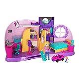 Polly Pocket FRY98 - Und... Klein Zimmer Spielset mit Polly Puppe und Zubehör, Mädchen Spielzeug...