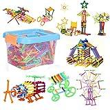 Spielzeug Steckbausteine Pädagogisches Lernspielzeug für Kinder ab 3 Jahren Steckspiel Gebäude...