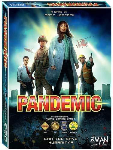 Pandemie bestes Kooperationsspiel - vom englischen Spiel Pandemic