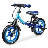 Lionelo Dan Plus Laufrad Kinder Fahrrad ab 2 Jahre für Junge Mädchen Balance Bike aus Stahl...
