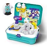 GizmoVine Spielzeug 3 Jahren Junge Hundesalon Haustier Rollenspiel Einstellen Baby Spielzeug mit...