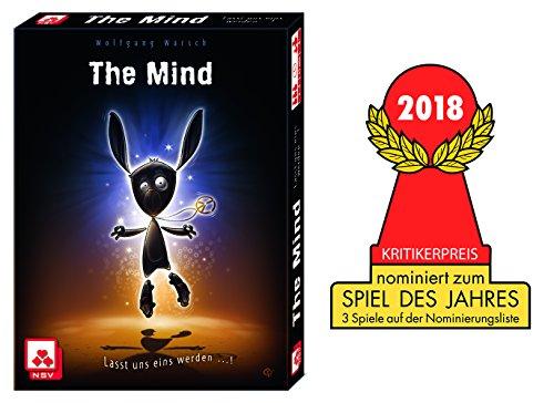 The Mind bestes Kooperationsspie - nominiert zum Spiel des Jahres 2018