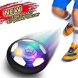 YORKOO Spielzeug zum 2-6 Jahre Alt Jungen Hover Fußball Fussball für Kinder Air Fußball mit LED...