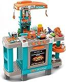 TikTakToo elektrische Kinderspielküche mit Licht und Sound Kinderküche groß Spielküche Spielzeug...