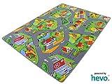 Stadt Land Fluss HEVO Teppich   Kinderteppich   Spielteppich 145x200 cm