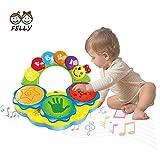 Felly Baby Musikspielzeug für 6 bis 12 Monate Tragbares Musikspielzeug für Babys Handtrommel...