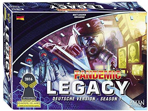 Pandemic Legacy Season 1 bestes Legacyspiel