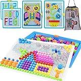 Steckspiel Pädagogisches Steckspielzeug Spielzeug für Kinder Lernspaß 295 Stücke Steckpuzzle...