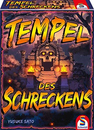 Tempel des Schreckens als Reisespiel