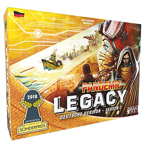 Pandemic Legacy Season 2 bestes Legacyspiel