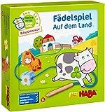 Haba 5580 - Meine erste Spielwelt Bauernhof Fädelspiel auf dem Land, liebevoll gestaltetes...