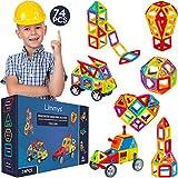 Limmys Magnetische Bausteine - magnetspielzeug ab 3 Jahre für Jungen und Mädchen - Pädagogisches...