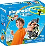 Playmobil 70055 Sports & Action Top Agents Pull String Flyer, bunt