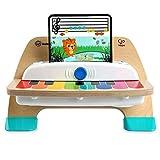 Baby Einstein Hape Magic Touch Piano Musikspielzeug Klavier aus Holz, mit 3 Notenblättern und 6...