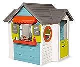 Smoby – Chef Haus - Multifunktionshaus für Kinder für drinnen und draußen, Restaurant,...