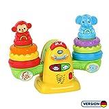 Vtech 80-513804 Stapelspaßwippe Babyspielzeug, Mehrfarbig