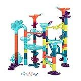 B. toys by Battat – Marble-Palooza – 62-tlg. Murmelbahn mit Lichter und Tönen – BPA-Freier...