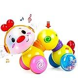 CubicFun Baby Musik Spielzeug für 6 Monate, Kriechendes und Singendes Musikalisches Babyspielzeug...