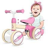 Gonex Kinder Laufrad 1 Jahr, Lauffahrrad H?henverstellbar, Baby Laufrad 4 R?der Rutschrad Jungen...