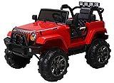 Actionbikes Motors Offroad Jeep Adventure - 2 x 35 Watt Motor - Reifen mit Weichgummiring -...