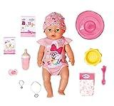 Zapf Creation 827956 BABY born Magic Girl 43 cm - neu mit magischem Schnuller und 10 lebensechten...