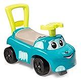 Smoby 720525 Mein erstes Auto Rutscherfahrzeug, Kinderfahrzeug mit Staufach und Kippschutz, für...