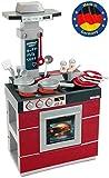 Theo Klein 9044 Miele Küche Kompakt I Kinder-Spielküche mit Ofen, Abzugshaube, Spülbecken und...