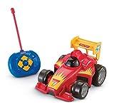 Fisher Price GVY94 - Fernlenkflitzer, ferngesteuertes Auto in rot, Motorikspielzeug mit...