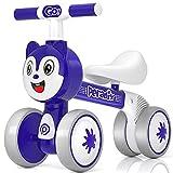 Peradix Kinder Laufrad, Laufrad ab 1 Jahr Unter zu 30 kg ohne Pedale Lauflernrad Spielzeug Ohne...