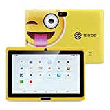 Kinder Tablet SIXGO 7 Zoll Android Pads Kleinkind Tablet Kids Edition Tablet mit WiFi Doppelkamera...
